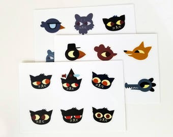 Night in the Woods Sticker Sheets 4x6""
