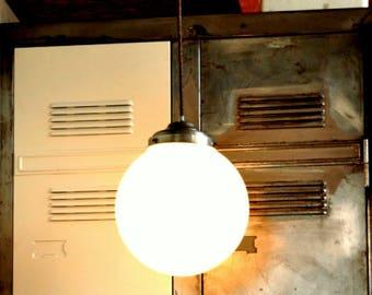 Round vintage pendant light