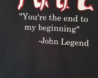 John Legend All of Me Human Centipede Shirt