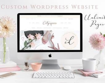 Custom Website Design, Wordpress Website Design, Web Design, Blog Design, Online Shop Design, Ecommerce Web Design, Website and Blog Design