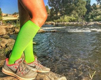 Copper Infused Graduated Compression Socks 15 to 20 mmhg for Marathon Runners, Cross fit, Flight Attendants, Pilot, Long Drive, Nurses & MDs