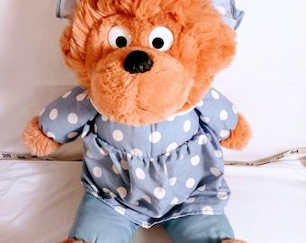 Vintage Berenstain Bears Mama Bear 15' Plush 1987
