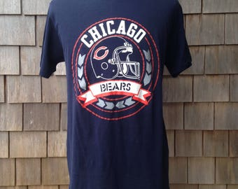 80s vintage Chicago Bears T shirt by Champion - Medium / Large