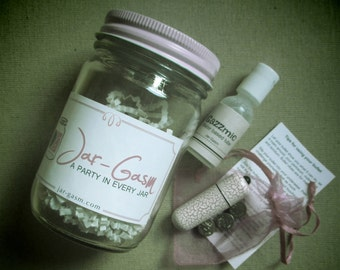 Oooh in a Jar - Vibrator and Lubricant Set