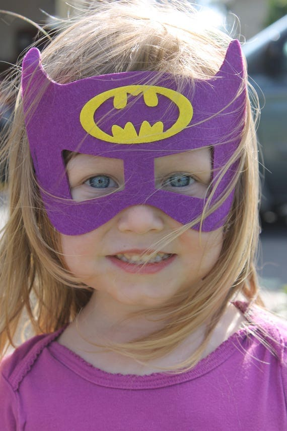 Batgirl Cape and Mask