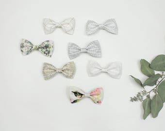 Classic Bows, Baby Girl Bows, Toddler Bows, Print Bows, Silver Bows, Gold Bows, Floral Bows, Polka Dot Bows, Christmas Bows