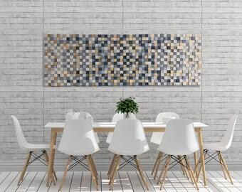 Large wood wall art | Etsy