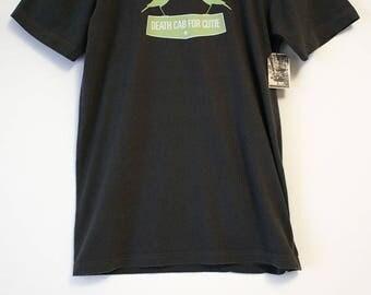 Death Cab For Cutie Talking Birds Dark Gray T-shirt- Size Women's Small (Cotton)