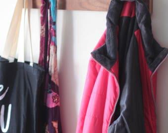 Coat Rack,coat hook,walnut Coat Rack,Coat Hanger,Towel Rack,Hanger,Entryway,Wood Coat Hanger,Everyday Carry,mid century modern,wall hook