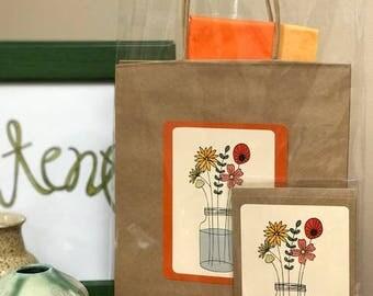 Wildflowers Gift Bag Kit