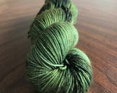 Poison Ivy on Simple Sock - Hand-dyed sock yarn