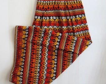 Vintage Tribal Skirt, Long Ethnic Skirt, Hippie Clothing, Bohemian Clothes