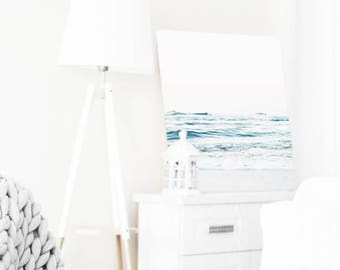 Beach Lovers Gift, Coastal Wall Art, Ocean Water, Minimal, Ocean Photography, Modern Ocean Print, Minimalist, Contemporary Art, Ocean Art
