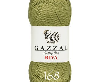 GAZZAL Riva Viscose yarn summer yarn spring yarn color choice hand knit yarn hand knit crochet  knit viscose summer viscose yarn