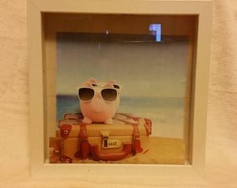 Shadow Box Piggy Bank