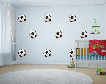 8 Football Wall Stickers