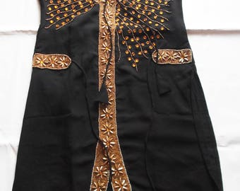Embroidered Indian Dress