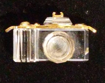 Swarovski Crystal Camera Charm