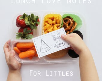 Lunch Note Printable for Kids, Fun Food Pun Cards for Lunch Box, Lunch Note Idea, Lunchbox Note Printable, Back to School Lunch Tag Cards
