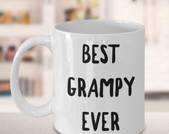 Grampy Gifts - Grampy Mug - Grampy Coffee Mug - Best Grampy Ever Ceramic Coffee Cup - Grampy Tea Mug