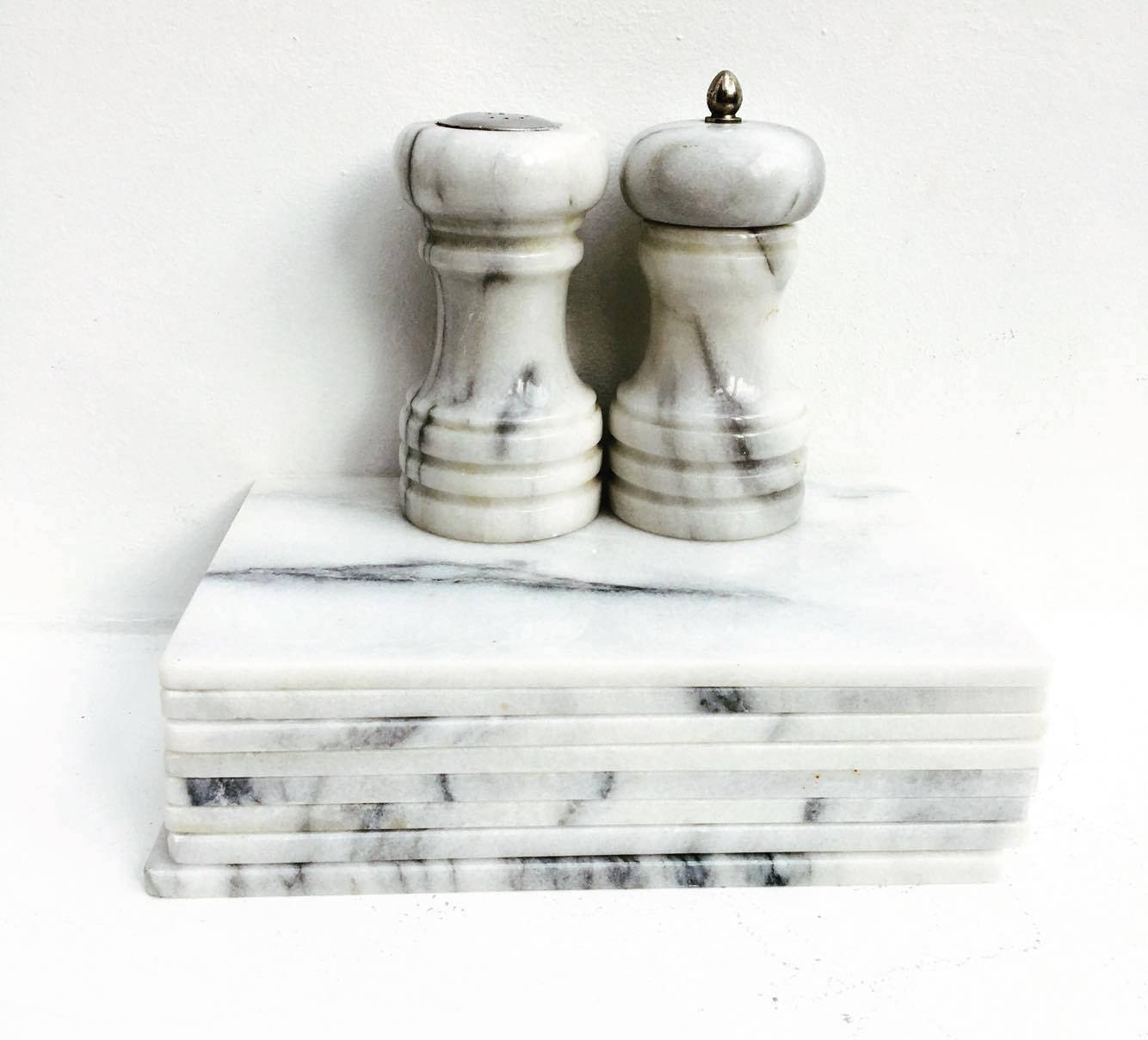 Marble Cutting Boards Cheese Boards Set Plate Serving