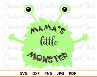 Halloween SVG for boy Monster svg 1st Halloween SVG for Baby Halloween Dxf Fall svg Halloween cut files for cricut Cute monster Silhouette
