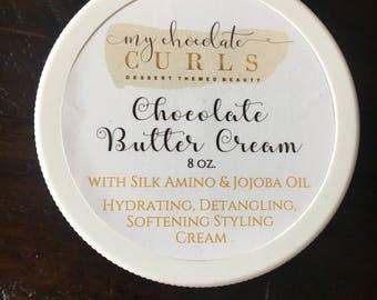 Natural Hair Care, Black Hair Care, Natural Hair Products, Chocolate Buttercream, Leave in, Detangler, Moisturizer