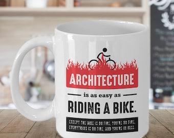 Architect Gift, Architect Mug, Gift for Architect, Funny Architect Gift, Funny Architect Mug, Architecture Mug, Gag Gift Architect, Birthday