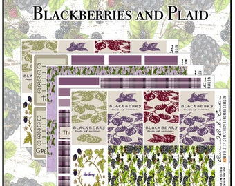 Blackberries and Plaid