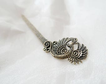 Vintage style Hairpin Bronze Hair Jewelry Hair Accessories
