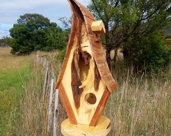 Birdhouse - Huon Pine, Myrtle & Celery Top Pine.