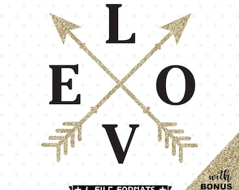 Love svg, Valentines Day SVG, Love Arrows SVG, Love cut file, Valentines Day cut file, Valentines Day Shirt Iron on transfer