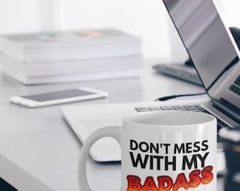 "Maltese Dog Mugs ""Badass Coffee Mugs For Maltese Owners"" Maltese Cup Makes A Great Maltese Gift"