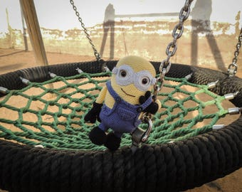"Plush Minion of the animated film ""Despicable Me"" for toddlers"