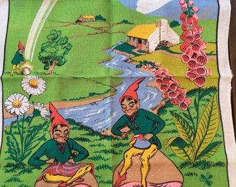 Leprechaun Vintage Tea Towel