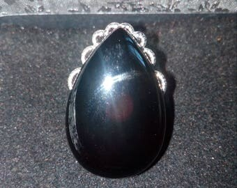 "Ring ""Onyx"" gemstone"