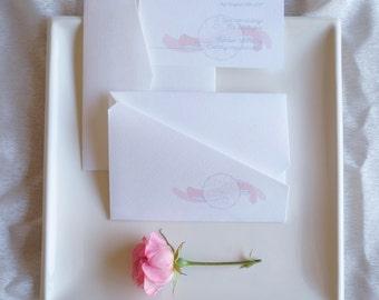 Boho wedding invitations | Custom invitations | Unique invitations | Wedding stationery | Dreamcatcher invites | Origami invitations