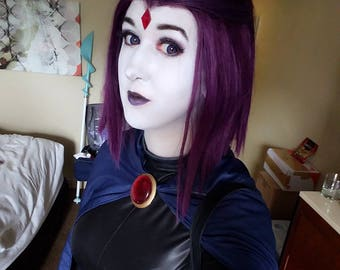Raven forehead gem (3 different styles)