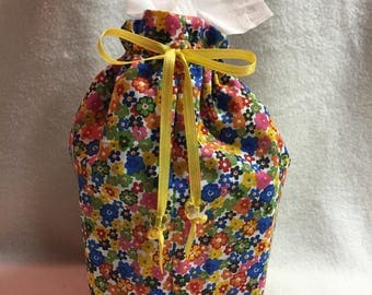 Tissue Box Cover - Colorful Floral (#001.30)