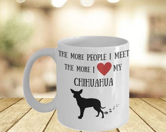 Chihuahua Mama Bear Mug- If You Can Read This Dog Owner Quote Mug Idea For Her- Worlds Greatest Gift Dog Mama Personal Mugs His Hers