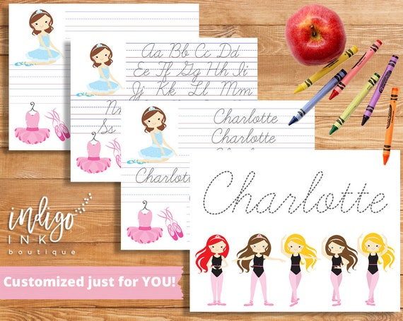 cursive handwriting worksheet digital custom name writing. Black Bedroom Furniture Sets. Home Design Ideas