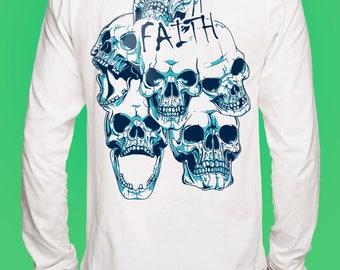 Floral Skull Sweatshirt