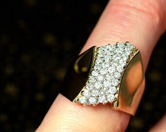 WOW Mens Diamond Ring You Will Not Find Another Like It