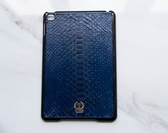 Real Python Snakeskin iPad Mini 4 Cases • Genuine Luxury Gift / Accessory • Made From Ethical Italian Exotic Leather