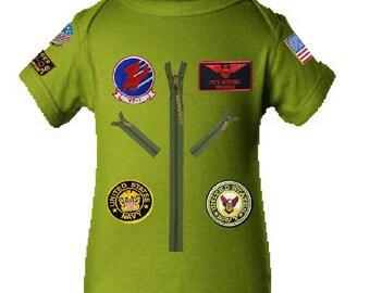 Top Gun Onesie /Infant Shirt, Tom Cruise Infant Tee/bodysuit