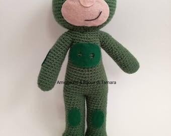 PJ MASK AMIGURUMI super piagiamini Gekko original baby gift