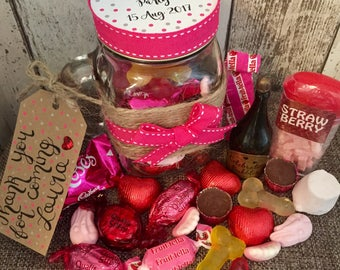 Hen Party Favours Personalised - Naughty Version