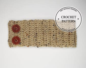 Crochet Pattern / Crochet Headband Pattern for All Sizes / Instant PDF Download