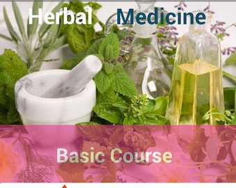 Herbal Basic Course - Digital Course