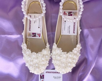 Wedding Shoes, Bridal Ballet Shoes, Lace Wedding Shoes, Women's Wedding Shoes, Weddings, Wedding Flats, Lace Wedding Flats, Bridal Shoes,